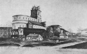 Картина домініканського монастиря пензля Наполеона Орди