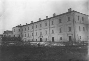 Домініканський монастир у якості палацу римо-католицького єпископа в Луцьку, початок ХХ ст.