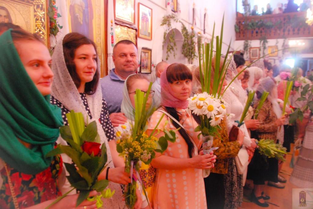 День Святої Трійці у семінарському храмі