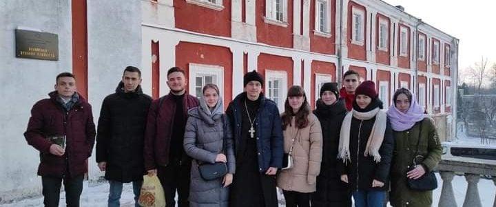 Православна молодь селища Голоби відвідала Волинську духовну семінарію