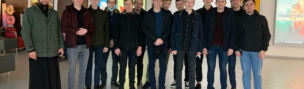 """Луцькі семінаристи переглянули документальний фільм """"Де ти, Адаме?"""" про Святу Гору Афон"""