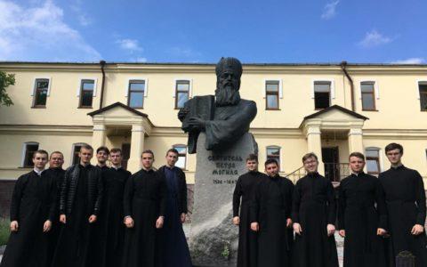 Студенти Волинської духовної семінарії відвідали святині Києва